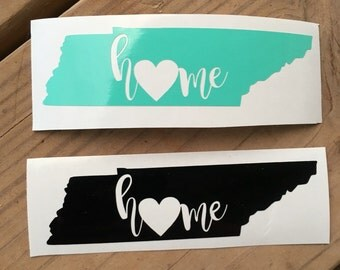 Home State Yeti Decals- FREE SHIPPING!!