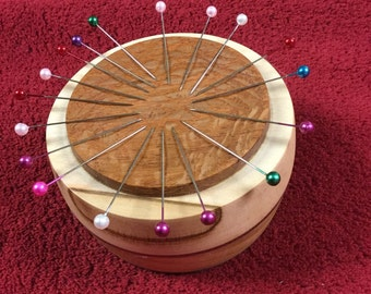 Magnetic Pincushion/Holder For Seamstress/Quilter