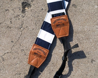 Handmade Cotton Camera Strap (Style: Dirty Sailor) Photographer Supply Co Photo Gift