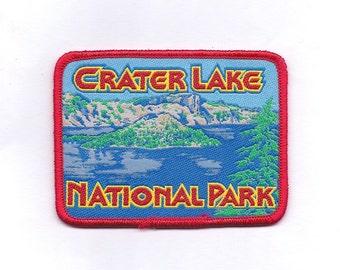 Vintage Crater Lake National Park Oregon Patch