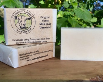 Original unscented Goats Milk Soap