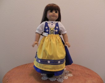 Swedish Doll Dress