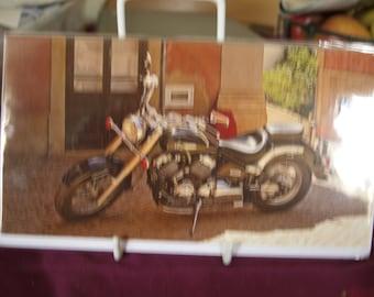 Yamaha Dragstar Motorbike Card