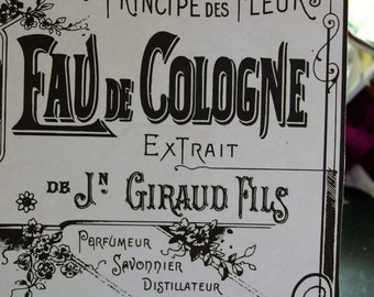 A Picture of a Parfumerie Poster