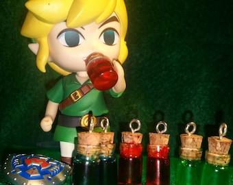 Legend of Zelda potion charms