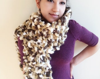 Huge Knit Scarf, giant chunky scarf, giant knit scarf, giant knit wrap, huge wrap, huge scarf, big scarf, big wrap, massive scarf, scarf