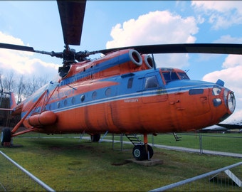 24x36 Poster . Mil Mi-6A Hook Russian Soviet Helicopter P2