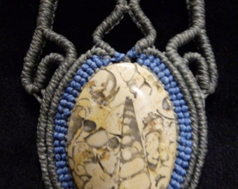 Fossil Stone Handmade Necklace