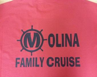 Family Cruise T-shirts customizable