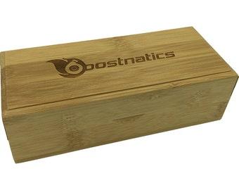 Boostnatics Bamboo Wood Sunglasses / Shades Case