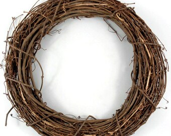 "30"" Large Grapevine Wreath Base, Grapevine, Wreath Base, Rustic Wreath Base, Craft Base, Grapevine, Large Wreath, 30"" Fence Wreath, DIY"