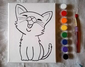 Cat Paint Kit