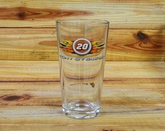 Tony Stewart Pint Beer Glass.  Box 86-87-88-89