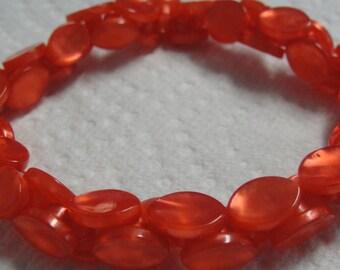 Red Button Bracelet