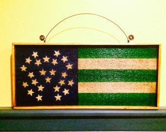"""NYPD Flag Sign 10""""x16"""""""