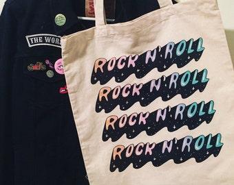 Cosmic Rock n' Roll Tote