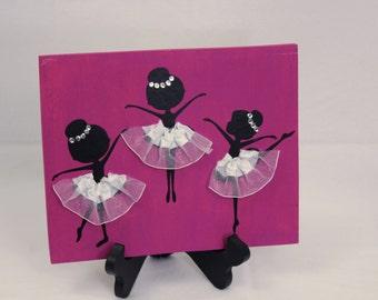 Ballerina 9x7 Signs