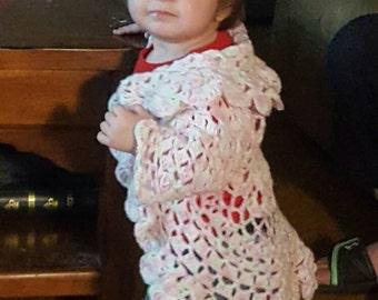 Crochet Granny's Little Girl cardigan