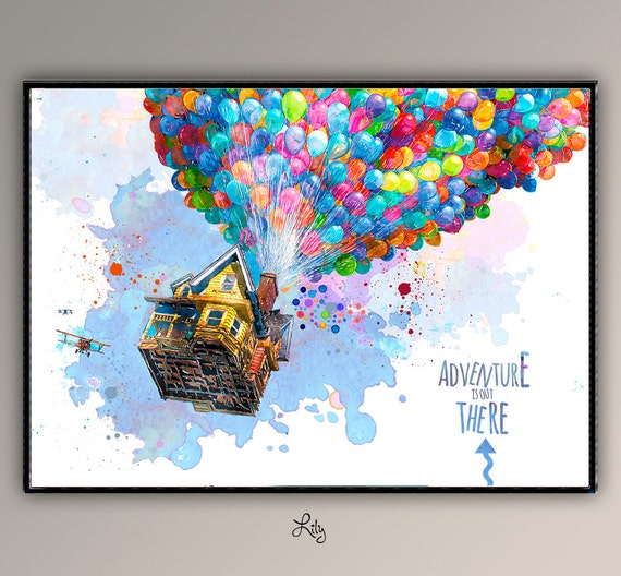 Up the movie flying home adventure is out there for Decor traduction