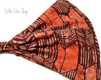 Arrow Print, Yoga Headband, Headbands for Women, Wide Head Scarf, Wide or Extra Wide Headband, Bandana Headband, Aztec Arrow,