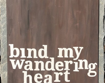 Bind My Wandering Heart To Thee Painting