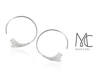 Shadow of Wings Earrings - Hoop Earrings