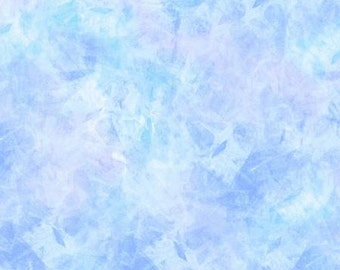"""Wilmington Prints  - Artic Cracked Ice - 2079-406 - Blue - Lavender - Wide Width - 108"""" Wide - Mottled Print - One More Yard"""