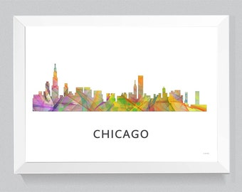 Chicago, Illinois Skyline WB1