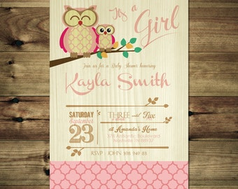 Pink Owl Baby Shower Invitation BabShow_inv_014