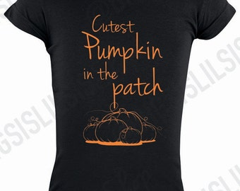 Cutest Pumpkin In the Patch Toddler Shirt/Cutest Pumpkin In the Patch/Halloween Shirt/Halloween Toddler Shirt/Toddler Shirt/