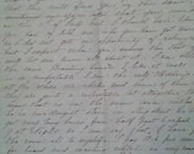 1853 Letter from Mechanic in Toronto to Father in Montreal; Discuss St. James Cathedral Opening, Toronto Boarding House