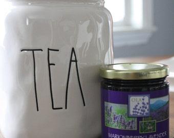 Lavender Infused Marionberry Jam Preserves
