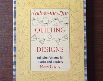 Follow-the-lines quilting designs