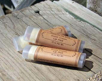Lip Balm, Sweet Cream,Lips, Lip Butter, Natural, Shackontherock, Chapstick