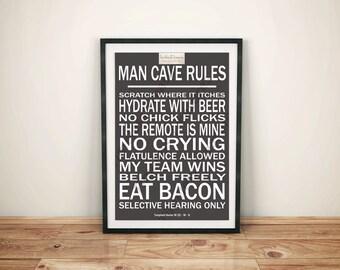 Men (D) - Man Cave Rules