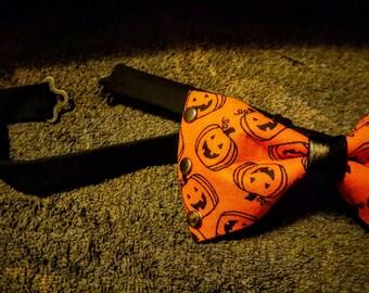Halloween Pumpkin Bowtie