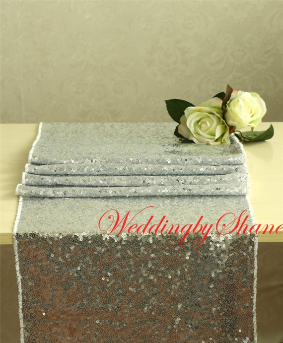 15 x 120 silver table runners sparkly table for 120 table runner christmas