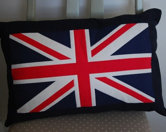 Union Jack Cushion, Decorative Pillow, Scatter Cushion, Cushion Cover, Pillow Cover