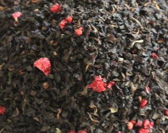 Teas2u Delicious Blackberry Flavor Black Tea Blend
