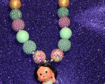 Little Girl Bubble Gum Necklace