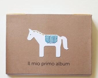 SALE MY FIRST Album, handmade photo album for children