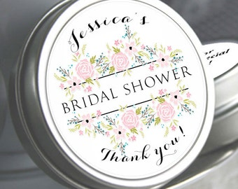 12 Bridal Shower Mint Tins, Personalized Mint Favor Mint to Be Wedding Favor Personalized Bridal Shower Favor, Baby Shower, Mint Tin Favors