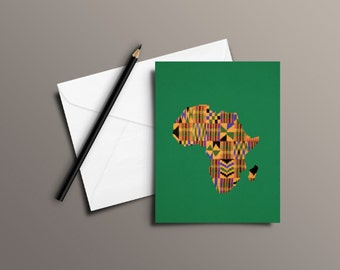 Africa Print | Greetings Card