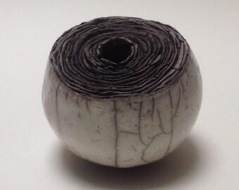 Ceramic art, ceramic sculpture, contemporary art,  home decor, abstract,  gift,handmade,raku