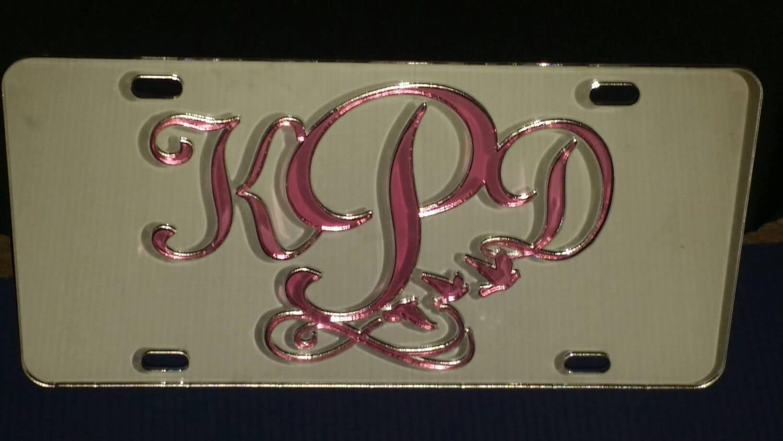 Custom Mirror License Plate Car Tag Personalized Car Tag