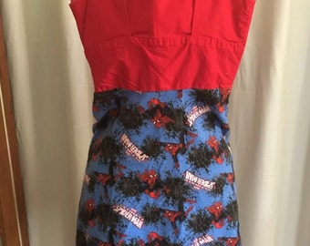 Small Spiderman Dress