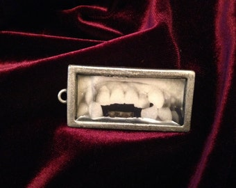 Broken Teeth Pendant