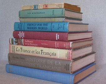 Vintage French Book Bundle