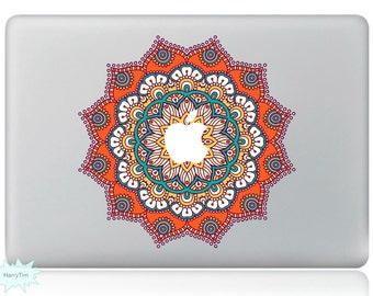 New Colorful Leaves Decal Mac Stickers Macbook Decals Macbook Stickers Apple Decal Mac Decal Stickers Laptop Decal 09