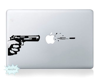 Shooting Decals Mac Stickers Macbook Decals Macbook Stickers Apple Decal Mac Decal Stickers Laptop Decal